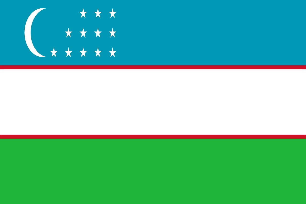 Uzbekistánská vlajka